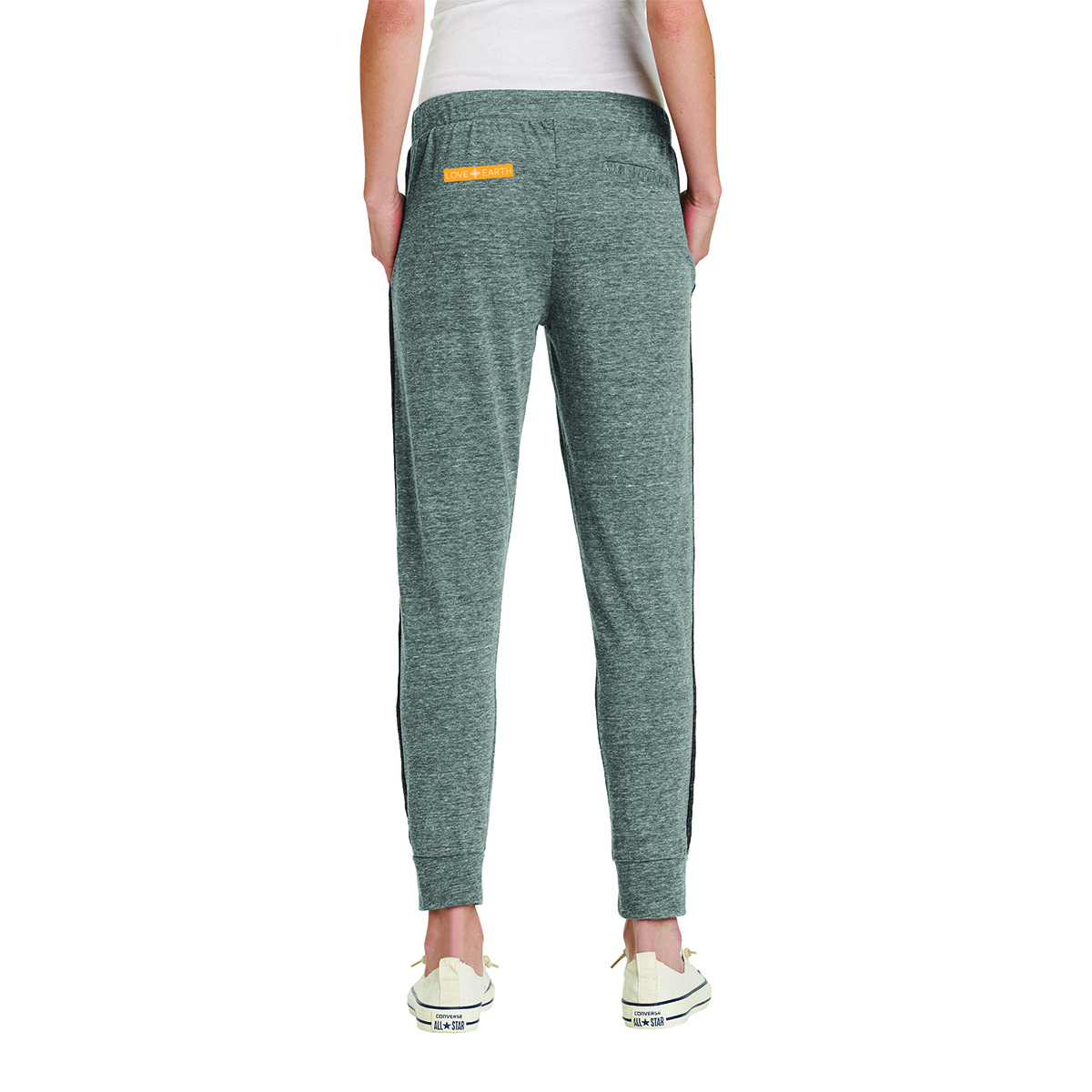LOVE+EARTH ECO LADIES JOGGERS ORGANIC COTTON MIX