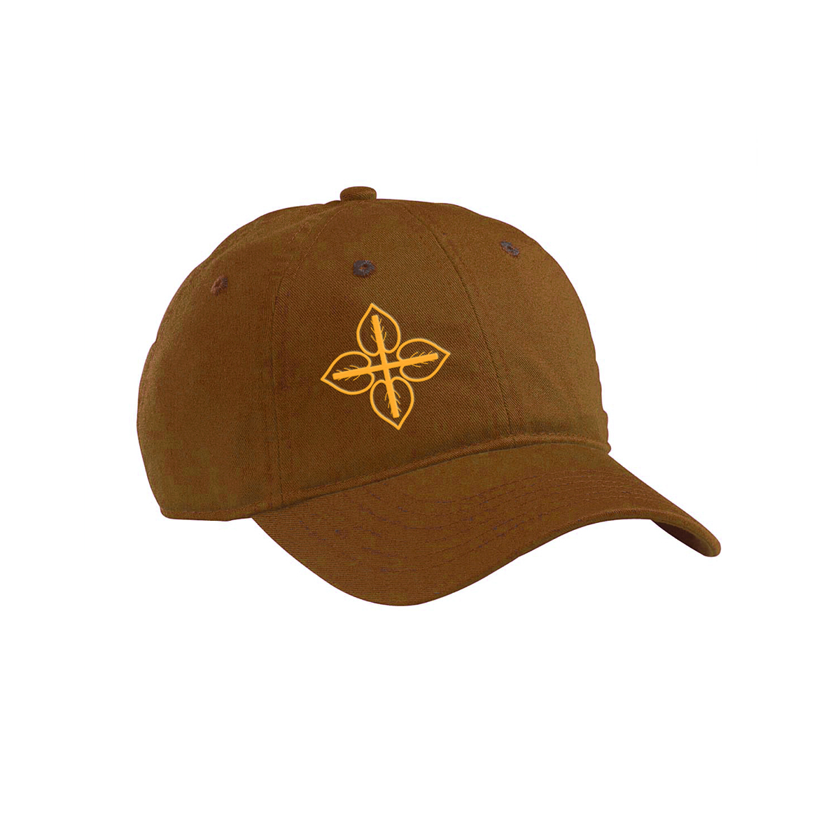 LOVE+EARTH ORGANIC COTTON TWILL UNSTRUCTURED BASEBALL CAP
