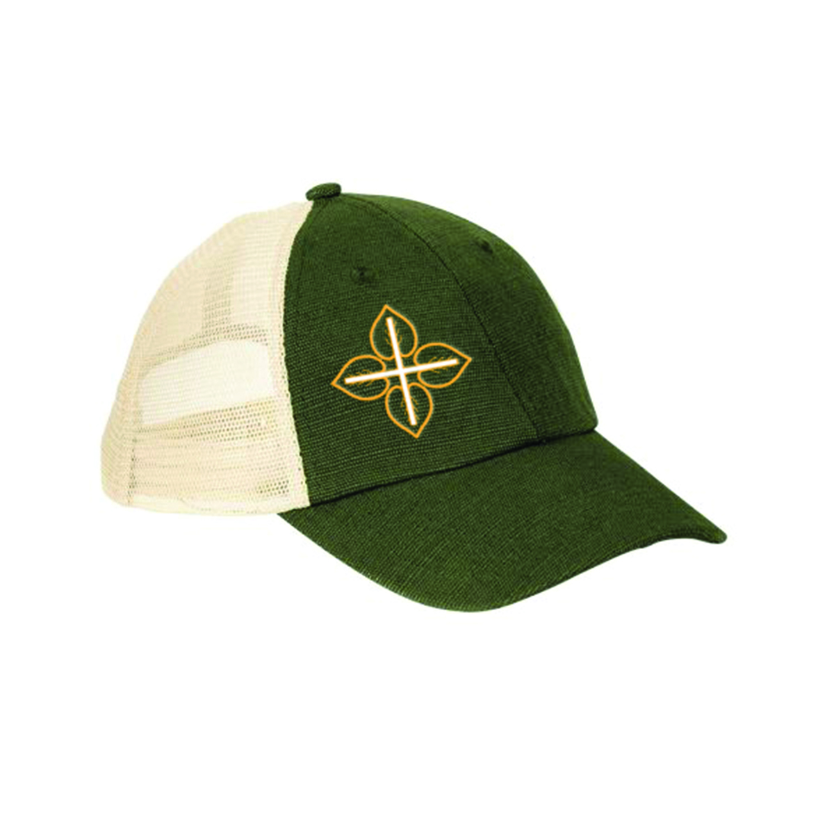 LOVE+EARTH HEMP MIX ECO TRUCKER CAP