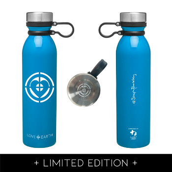 Earth Day Limited Edition Water Bottle by Steph Barkley