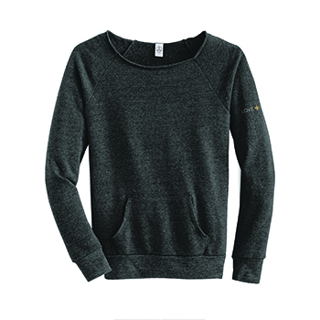 LOVE+EARTH ECO LADIES PULLOVER ORGANIC COTTON MIX